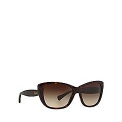 Ralph - Brown cat eye RA5190 cat eye sunglasses