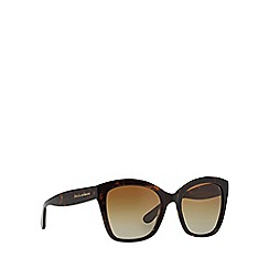 Dolce & Gabbana - Brown DG4240 square sunglasses