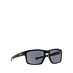 Oakley - Black 'Sliver' OO9262 rectangle sunglasses