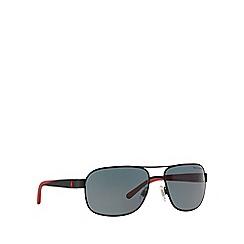 Polo Ralph Lauren - Black square PH3093 sunglasses