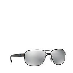 Polo Ralph Lauren - Gunmetal square male sunglasses