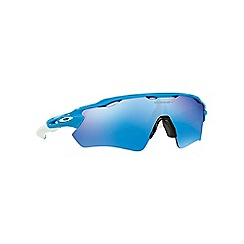 Oakley - Light Blue 'Radar Ev Path 'OO9208 rectangle sunglasses