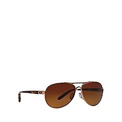 Oakley - Pink OO4108 pilot sunglasses