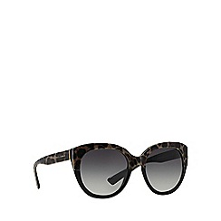 Dolce & Gabbana - Black DG4259 round sunglasses