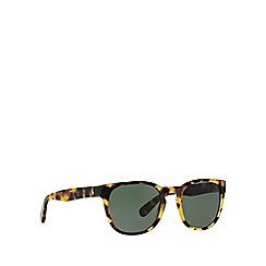 Polo Ralph Lauren - Brown PH4099 round sunglasses