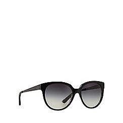 DKNY - Black DY4128 round sunglasses