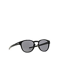 Oakley - Black OO9265 oval sunglasses