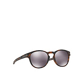 Oakley - Matte Brown LATCH OO9265 oval sunglasses