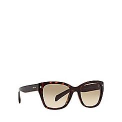 Prada - Brown PR09SS square sunglasses