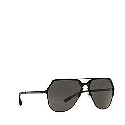 Dolce & Gabbana - Matte pink DG2151 pilot sunglasses