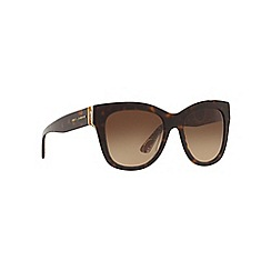 Dolce & Gabbana - Brown DG4270 square sunglasses