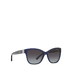Emporio Armani - Blue EA4068 round sunglasses