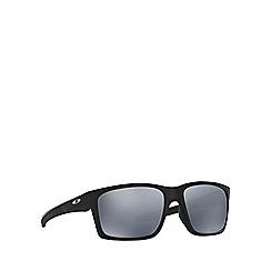 Oakley - Matte black 'Mainlink' OO9264 rectangle sunglasses