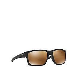 Oakley - Matte black 'Mainlink' rectangle OO9264 sunglasses