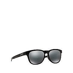 Oakley - Shiny black 'Stringer' OO9315 rectangle sunglasses