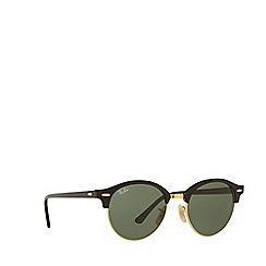 Ray-Ban - Black RB4246 round sunglasses