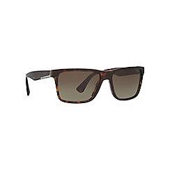 Prada - Brown PR19SS square sunglasses