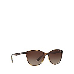 Emporio Armani - Brown EA4073 cat eye sunglasses