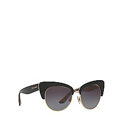 Dolce & Gabbana - Black DG4277 cat eye sunglasses