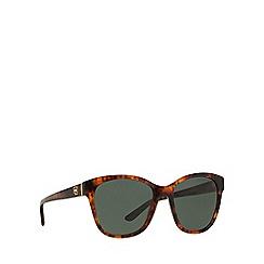 Ralph Lauren - Brown RL8143 square sunglasses