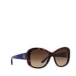 Ralph Lauren - Brown RL8144 butterfly sunglasses