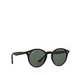 Ray-Ban - Black RB2180 round sunglasses