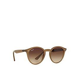 Ray-Ban - Grey RB2180 round sunglasses