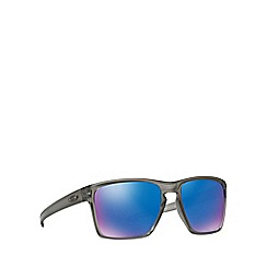 Oakley - Matte grey 'Sliver Xl' OO9341 rectangle sunglasses