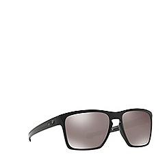 Oakley - Black 'Sliver Xl' OO9341 rectangle sunglasses