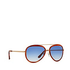 Tom Ford - Brown 'Andrew 'FT0457 rectangle sunglasses