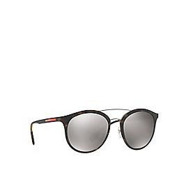 Prada Linea Rossa - Brown PS 04RS phantos sunglasses