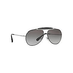 Prada - Black PR56SS pilot sunglasses