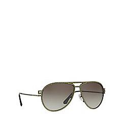 Versace - Matte green VE2171B pilot sunglasses