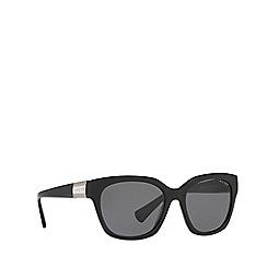 Ralph - Black square frame female sunglasses