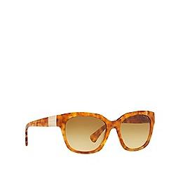 Ralph - Havana square frame female sunglasses