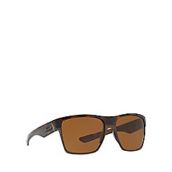 Oakley - Brown 'Twoface XL' OO9350 square sunglasses