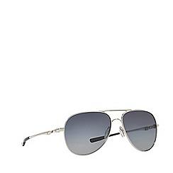 Oakley - Silver round OO4119 'Elmont M & L ' sunglasses