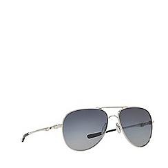 Oakley - Silver 'Elmont' OO4119 pilot sunglasses