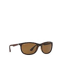 Ray-Ban - Havana RB4267 square sunglasses