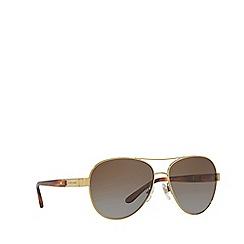 Ralph Lauren - Gold pilot frame sunglasses