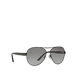 Ralph Lauren - Black pilot frame sunglasses