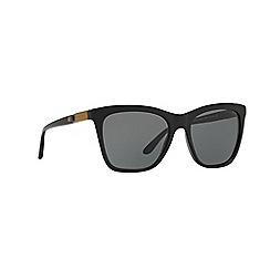 Ralph Lauren - Black square frame sunglasses