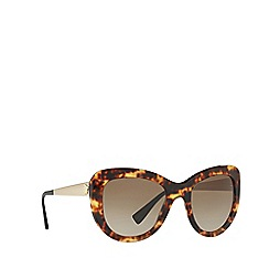 40fd6546b769 Versace - Brown cat eye frame female sunglasses