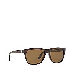 Polo Ralph Lauren - Dark havana square frame sunglasses