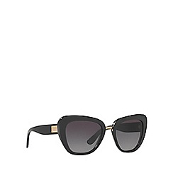 Dolce & Gabbana - Black DG4296 butterfly sunglasses