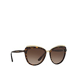 Dolce & Gabbana - Havana DG4304 cat eye sunglasses