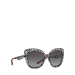 Dolce & Gabbana - Black DG2164 butterfly sunglasses