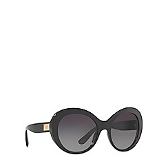 Dolce & Gabbana - Black DG4295 oval sunglasses
