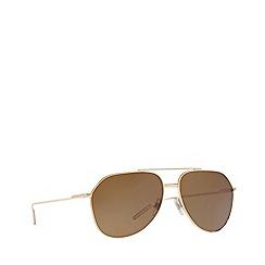 Dolce & Gabbana - Gold  DG2166 pilot sunglasses