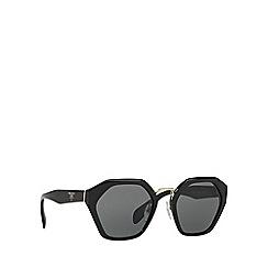 Prada - Black PR04TS irregular sunglasses